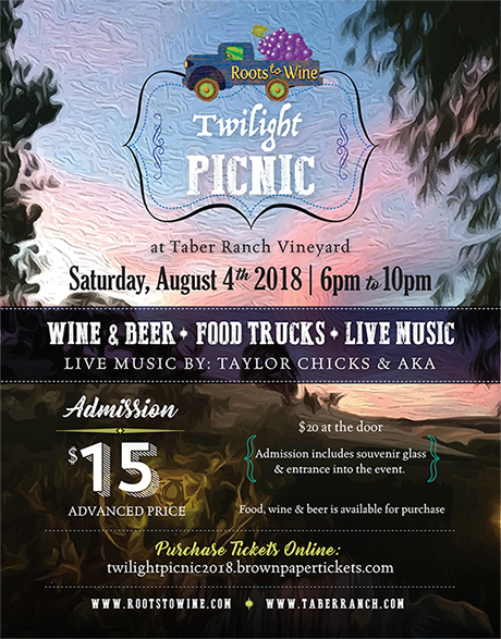 Twilight Picnic Tabor Ranch 4 August 2018